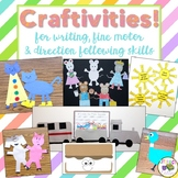 Favorite Characters Crafts and Writing Prompts {A Growing Bundle}
