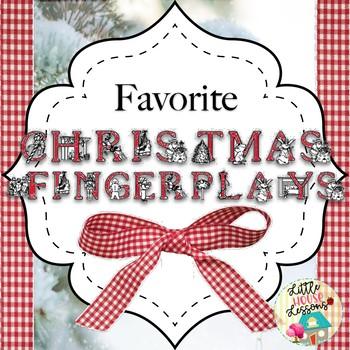 favorite christmas songs fingerplays - Favorite Christmas Songs
