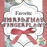 Favorite Christmas Songs & Fingerplays