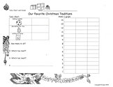Favorite Christmas Traditions Tally and Graph