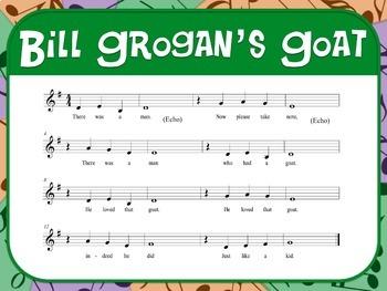 Favorite Folk Song – Bill Grogan's Goat Teacher Kit