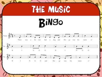 Favorite Folk Song – Bingo Teacher Kit