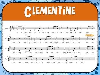 Favorite Folk Song – Clementine Teacher Kit