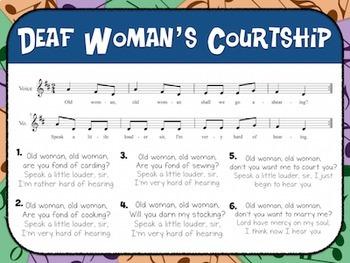 Favorite Folk Song – Deaf Woman's Courtship Teacher Kit