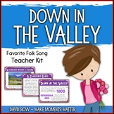 Favorite Folk Song – Down in the Valley Teacher Kit