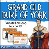 Favorite Folk Song – Grand Old Duke of York Teacher Kit