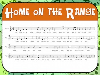 Favorite Folk Song – Home on the Range Teacher Kit