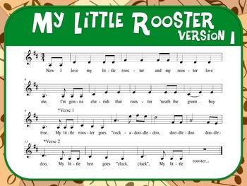 Favorite Folk Song – I Had a Rooster Teacher Kit