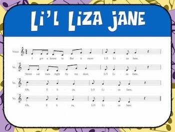 Favorite Folk Song – Li'l Liza Jane Teacher Kit