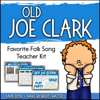 Favorite Folk Song – Old Joe Clark Teacher Kit