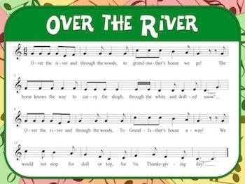Favorite Folk Song – Over the River and Through the Woods Teacher Kit