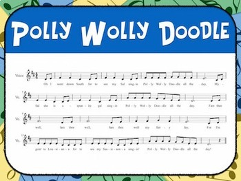 Favorite Folk Song – Polly Wolly Doodle Teacher Kit