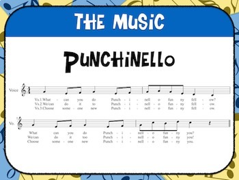 Favorite Folk Song – Punchinello Teacher Kit