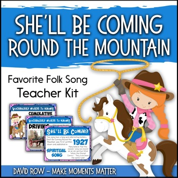 Favorite Folk Song – She'll Be Coming Round the Mountain T