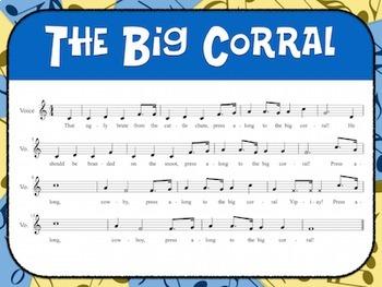 Favorite Folk Song – The Big Corral Teacher Kit