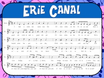 Favorite Folk Song – The Erie Canal Teacher Kit