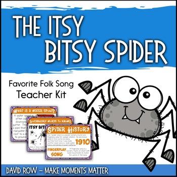 Favorite Folk Song – The Itsy Bitsy Spider Teacher Kit