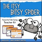 Favorite Folk Song – The Itsy Bitsy Spider Teacher Kit