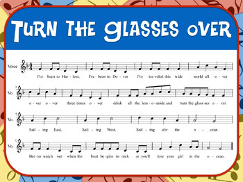 Favorite Folk Song – Turn the Glasses Over Teacher Kit