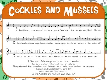 Favorite Folk Songs – Cockles and Mussels Teacher Kit