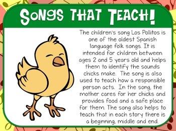 Favorite Folk Songs – Los Pollitos Teacher Kit