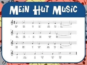 Favorite Folk Song – Mein Hut Teacher Kit