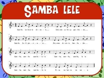 Favorite Folk Song – Samba Lele Teacher Kit