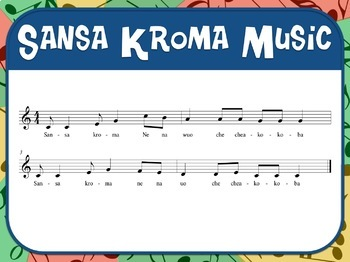 Favorite Folk Song – Sansa Kroma Teacher Kit