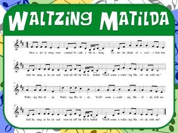Favorite Folk Songs – Waltzing Matilda Teacher Kit