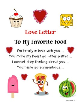 Love Letter to My Favorite Food