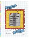"Favorite Food (""ow"" sound - ou words) - use for Language Arts & ESL & SEL"
