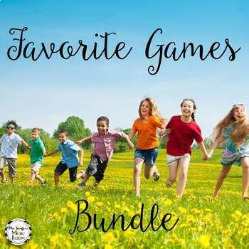 Favorite Games Growing Bundle {Music Class Edition}