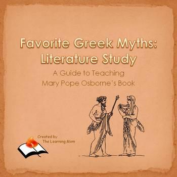 Favorite Greek Myths:  Literature Study