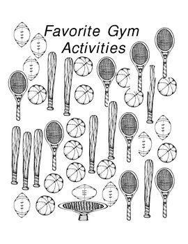 Favorite Gym Activities graph