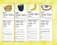 Favorite Healthy Foods Bookmarks