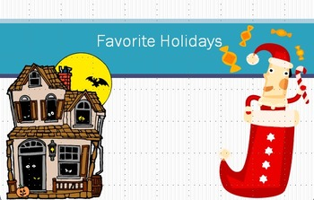 Favorite Holiday PowerPoint Lesson Materials - works with PPT 07, 10, 13
