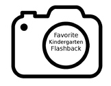 Favorite Kindergarten Flashback Writing Activity