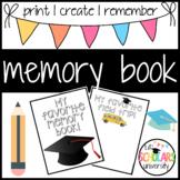 Memory Book Printable