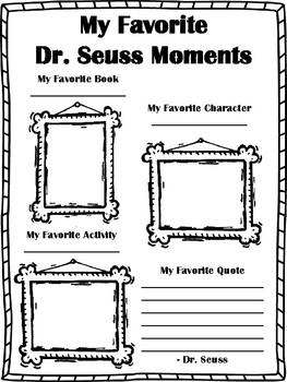 Favorite Moments: Dr. Seuss