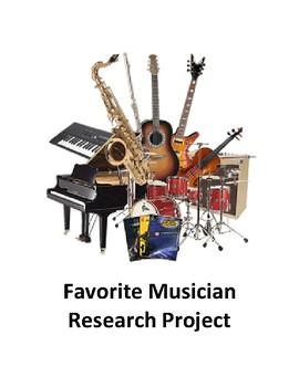 Favorite Musician Project