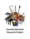 Favorite Musician Project
