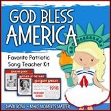 Favorite Patriotic Song – God Bless America Teacher Kit