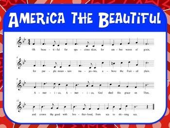 Favorite Patriotic Song – America the Beautiful Teacher Kit