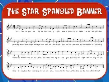 Favorite Patriotic Song – The Star Spangled Banner Teacher Kit