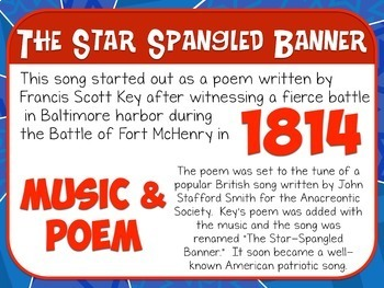 Favorite Patriotic Song – The Star Spangled Banner Teacher Kit