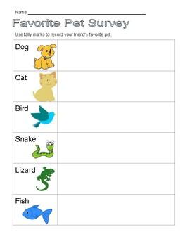 Favorite Pet Survey