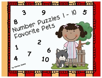 Favorite Pets - Counting Puzzles