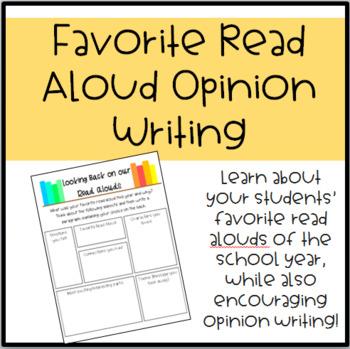 Favorite Read Aloud Opinion Writing #DollarDeal
