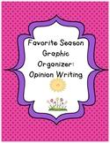 Favorite Season Graphic Organizer