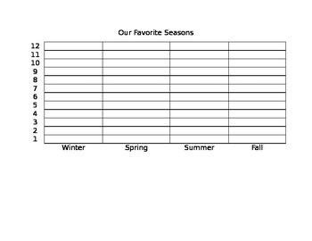 Favorite Seasons Graph